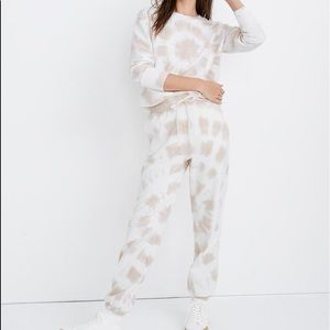 Madewell Tie Dye Retro Sweatpants